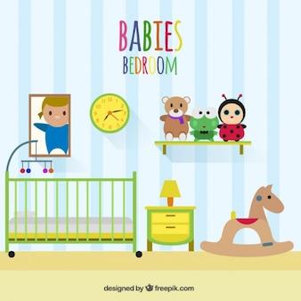 Dormitorio de los bebés