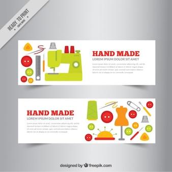 Dos fantásticos banners sobre artesanía