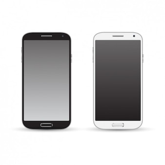Dos réplicas de teléfono celular