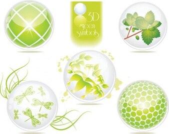 ecológica verde symbols2
