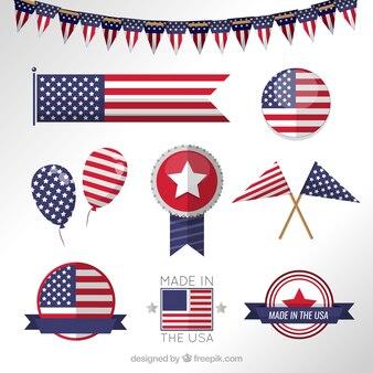 EE.UU. Bandera Banderas