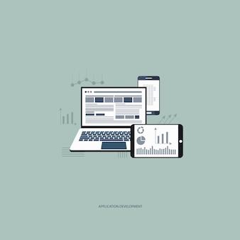 El concepto de desarrollo de aplicaciones