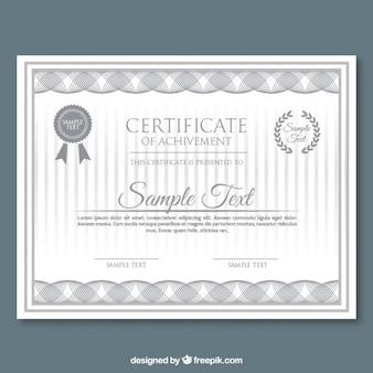 El extracto forma gris certificado