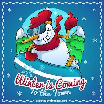 El invierno llega a la ciudad