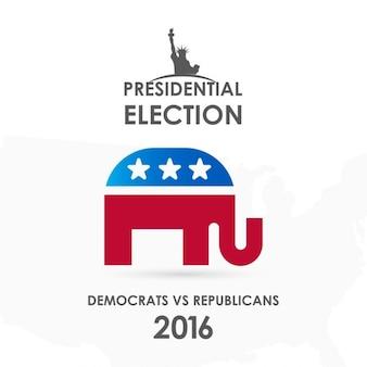 Elecciones de estados unidos 2016, elefante