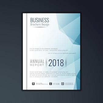 Elegante diseño de folletos empresariales