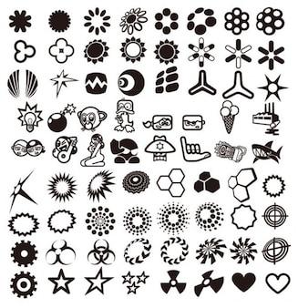 elementos de diseño vectorial colección