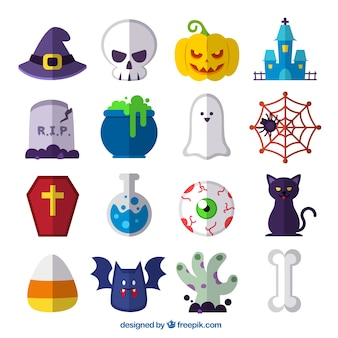 Elementos de Halloween