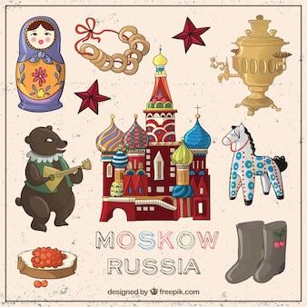 Elementos de Moscú esbozados