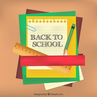 Elementos de vuelta a la escuela