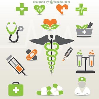 Elementos gráficos de medicina