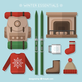 Elementos planos de invierno