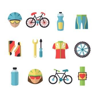 Equipación para ciclistas