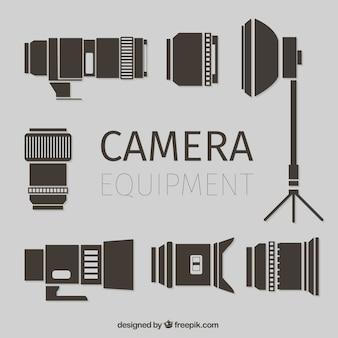 Equipamiento plano de cámara