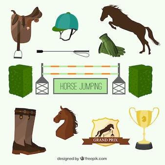 Equipo de carreras de caballos