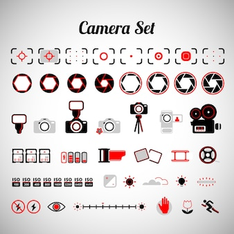 Equipo variado de cámara