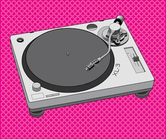 equipos de dj tocadiscos de diseño
