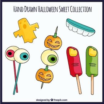 Escalofriantes dulces de halloween