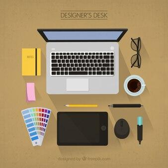 Escritorio del diseñador