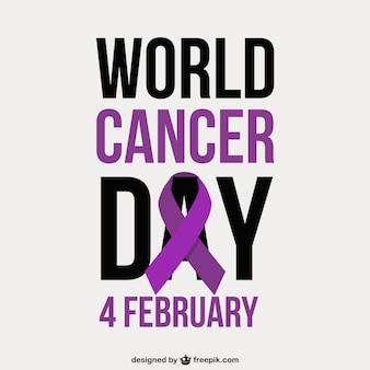 Escritura del día mundial del cáncer