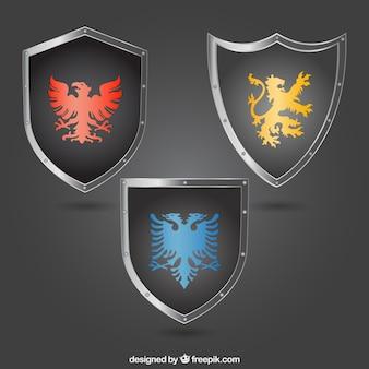 Escudos medievales