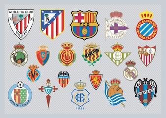 español logos del equipo de fútbol