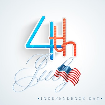 Estados unidos gloria azul día de los EE.UU.