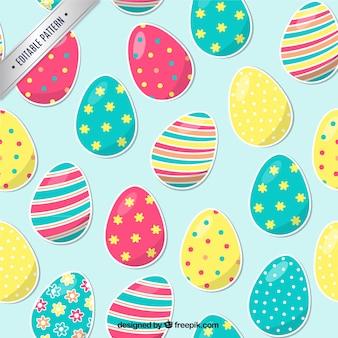Estampado con huevos de pascua