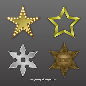 Estrellas metálicas