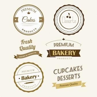Etiqueta de la panadería