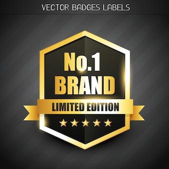 Etiqueta de marca original