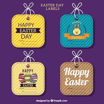 Etiquetas bonitas de Pascua