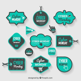 etiquetas de ciber lunes