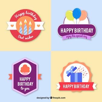 Etiquetas de cumpleaños bonitas