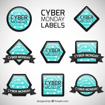 Etiquetas de lunes cibernético