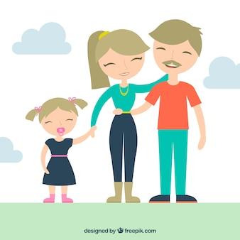 Familia rubia
