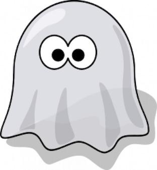 fantasma de dibujos animados
