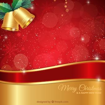 Felicitación de navidad elegante