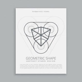 Figura cúbica geométrica sagrada