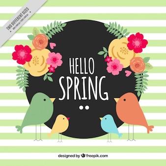 Flor Antecedentes de primavera