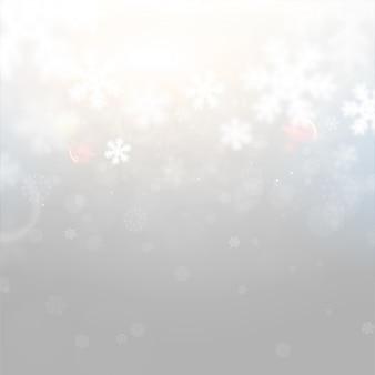 Folleto de vacaciones de invierno nueva tarjeta