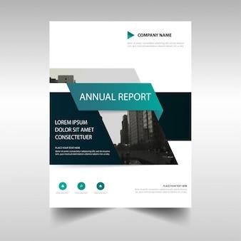 Folleto para reporte anual