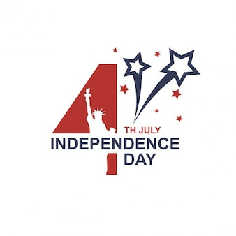 Fondo 4 julio día de la independencia