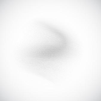 Fondo abstracto blanco con textura ondulada