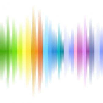 Fondo abstracto colorido de formas borrosas