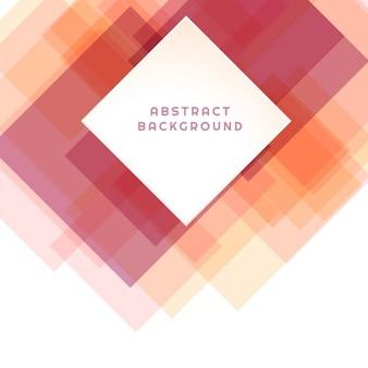Fondo abstracto con cuadrados en tonos cálidos