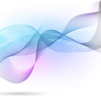 Fondo abstracto con diseño de ondas que fluyen
