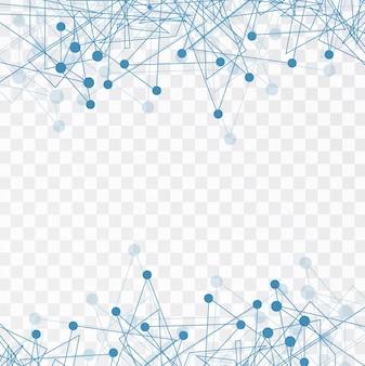Fondo abstracto con elementos tecnológicos