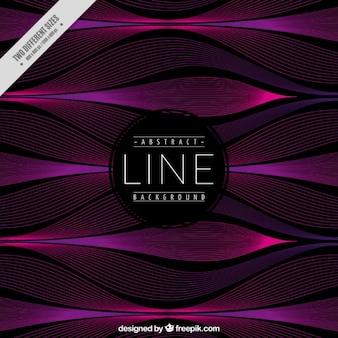 Fondo abstracto con líneas onduladas
