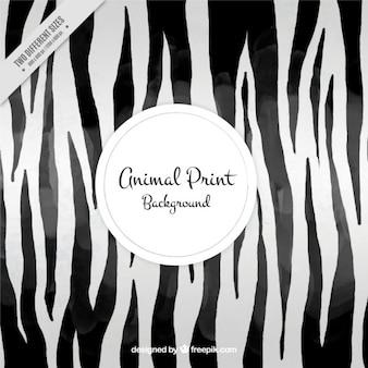 Fondo abstracto con rayas de zebra